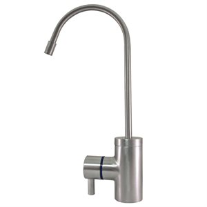 Tomlinson Contemporary Faucet, Brushed Stainless