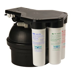 WOW Water RO Base Unit with Filters (No Install Kit)