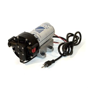 "Aquatec 5853 Delivery Pump - 0.1-1 gpm, 60 psi, 3/8"" JG, 115V Cord"