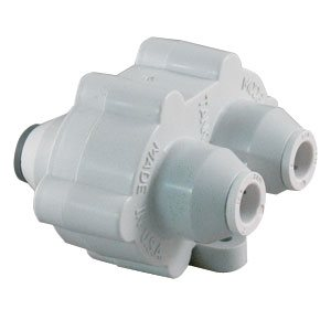 "Hydronamic Auto Shutoff Valve, White - 1/4"" Mur-lok, 150 gpd or less"
