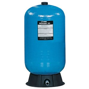 """Structural ROmate 15 Tank, 1"""" Male NPT, NSF 58, 14.5 gallons"""
