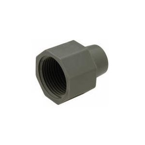 "1/2"" OD Compression Nut - Grey"