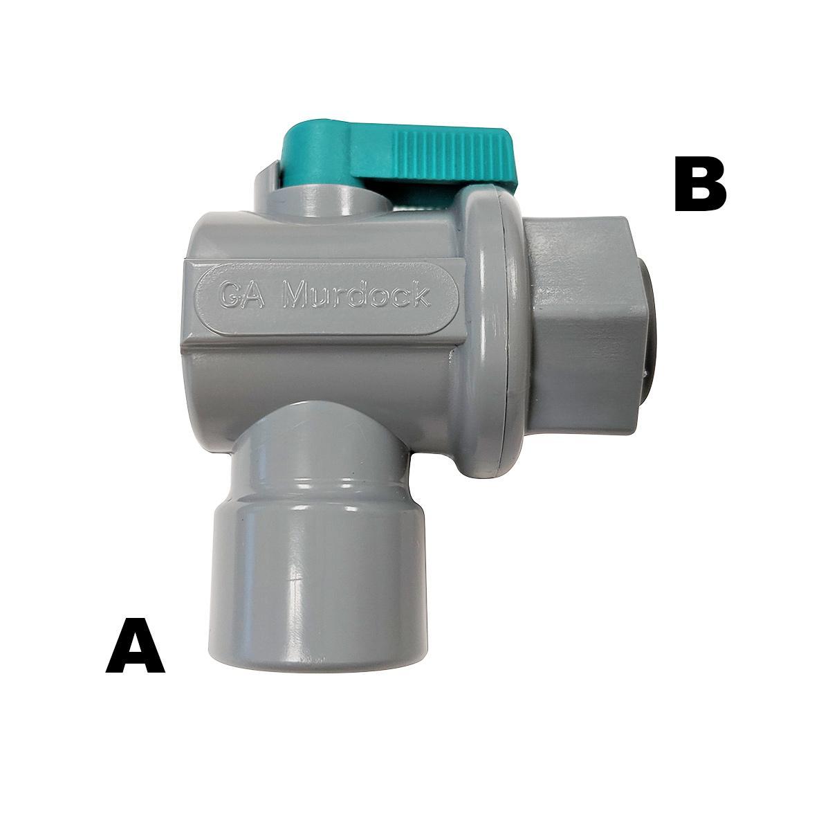 "Male Straight Adaptor Water Fitting 3//8/"" QC x 1//4/"" NPT -John Guest Comp Mur-Lok"