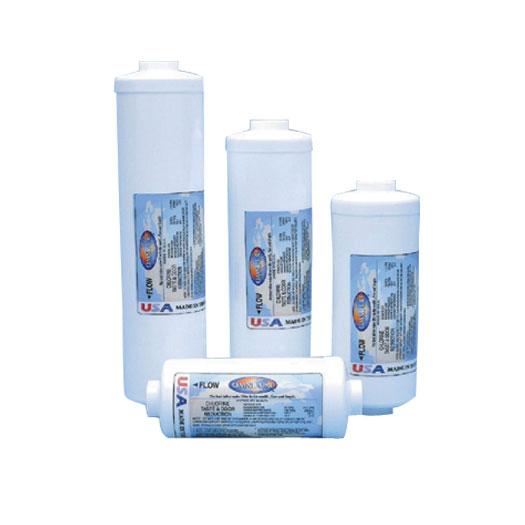 "2.5""x10""-1/4"" QC-1M Lead/Cyst Carbon Block"