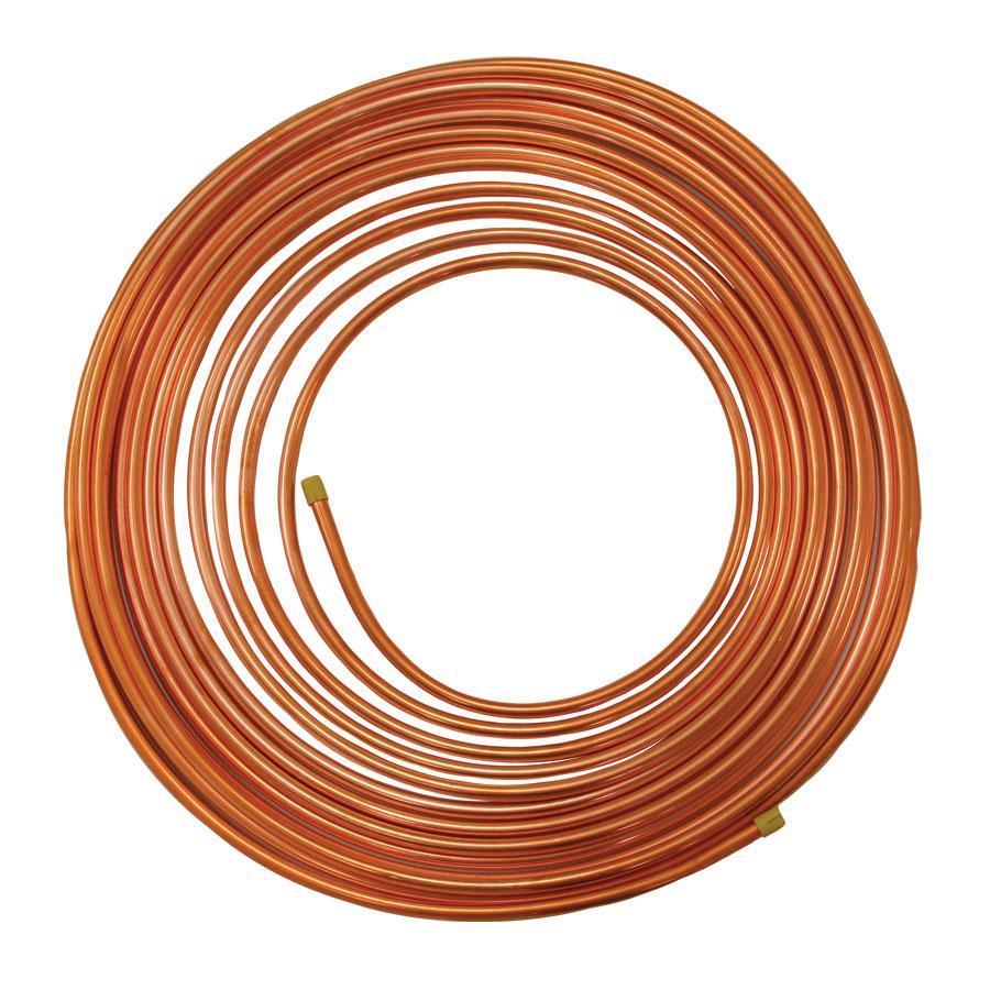 """1/4"""" OD Copper Tubing - 50 feet"""