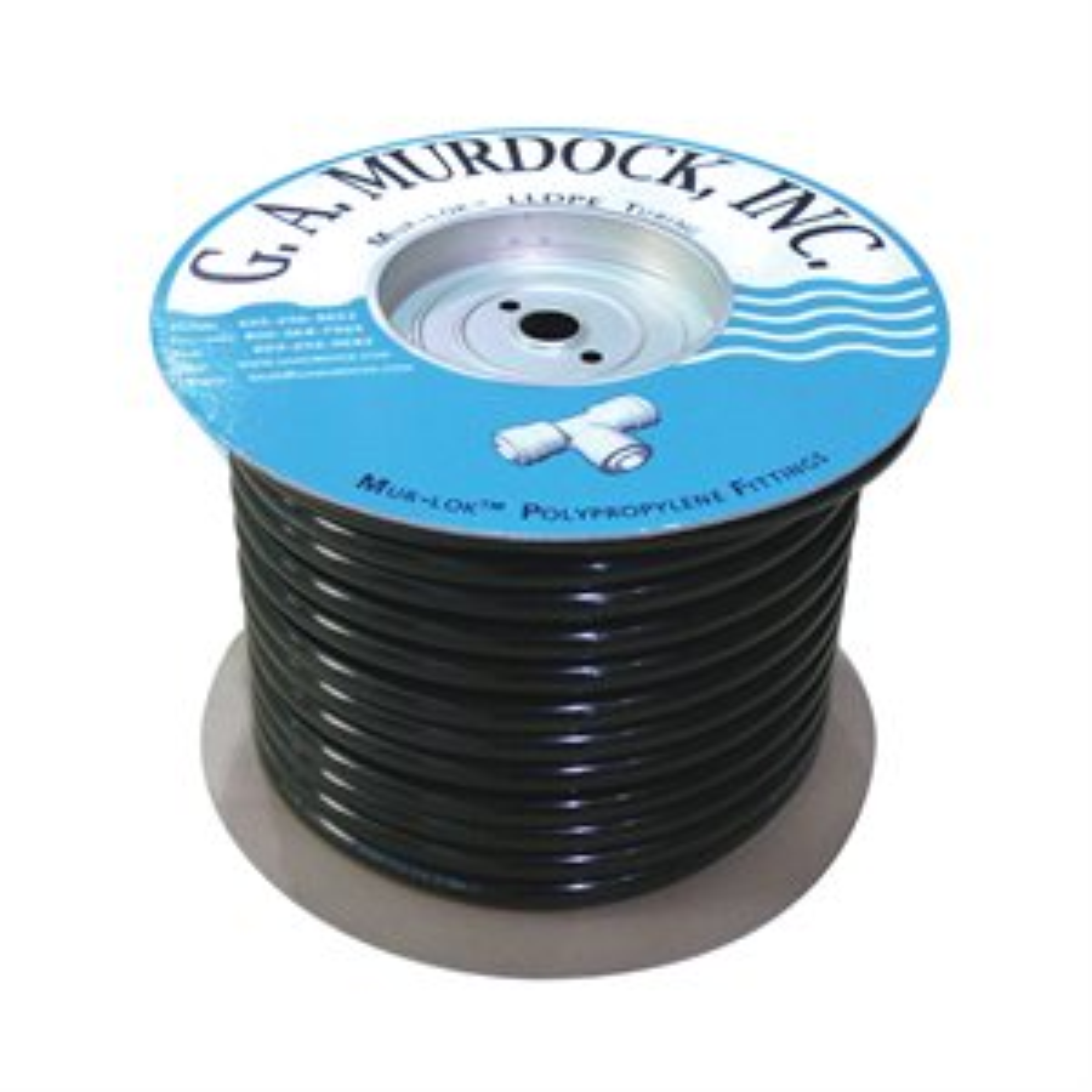 "3/4"" x 5/8"" 100' Mur-lok LLDPE Tubing-Black"