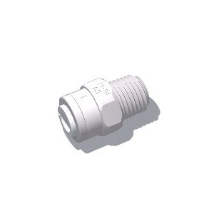 All Male-Threaded Straight Fittings