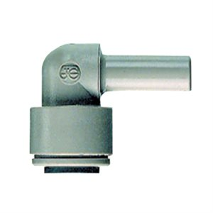 "1/4"" JG Speedfit x 1/4"" JG Stem Elbow-Grey"