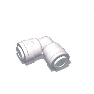 "3/8"" Tube x 1/4"" Tube Union Elbow (10/Bag)"