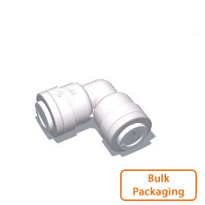 "3/8"" Tube x 3/8"" Tube Union Elbow (Bulk Pkg)"