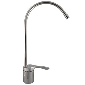 QMP Long Arch Ceramic Disc Faucet-Chrome