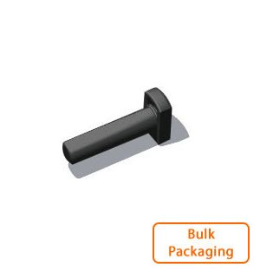 "1/4"" Tube Plug-Black (Bulk Pkg)"
