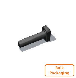 "3/8"" Tube Plug-Black (Bulk Pkg)"