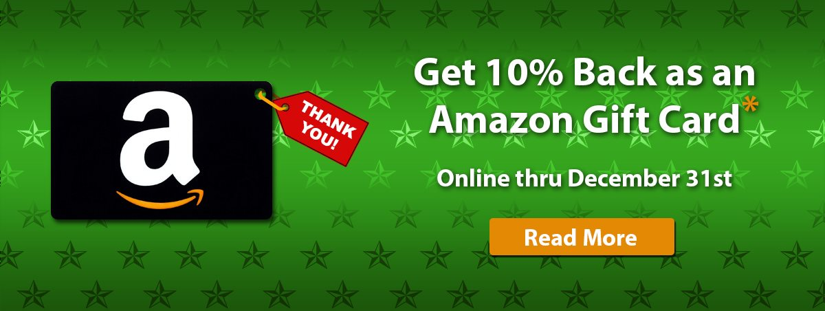 Amazon Gift Card for Wholesale Water Conditioning Dealers